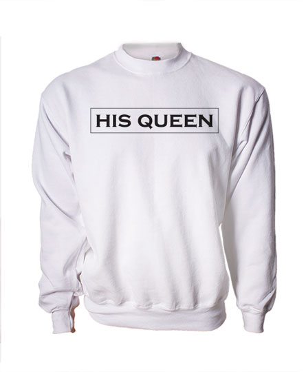c3336d9c24 The King - His Queen (unisex pulóver)(unisex pulóver) - Polószabó