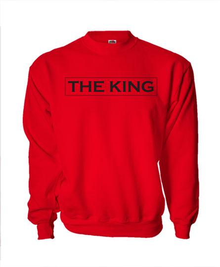ee973d2ec6 The King - His Queen (unisex pulóver) - Polószabó