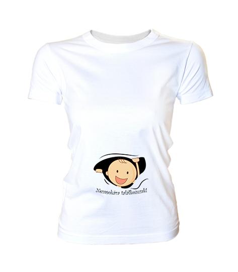 09b1b38f9e Nemsokára találkozunk (női póló) - Polószabó