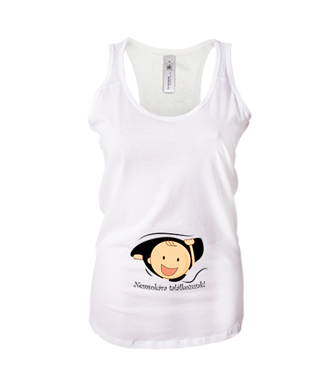 c315137635 Nemsokára találkozunk (női ujjatlan póló) - Polószabó