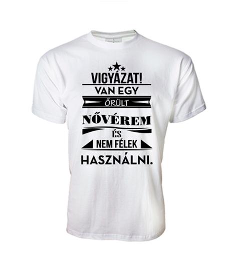Őrült Nővérem (férfi póló) - Polószabó b777f97271