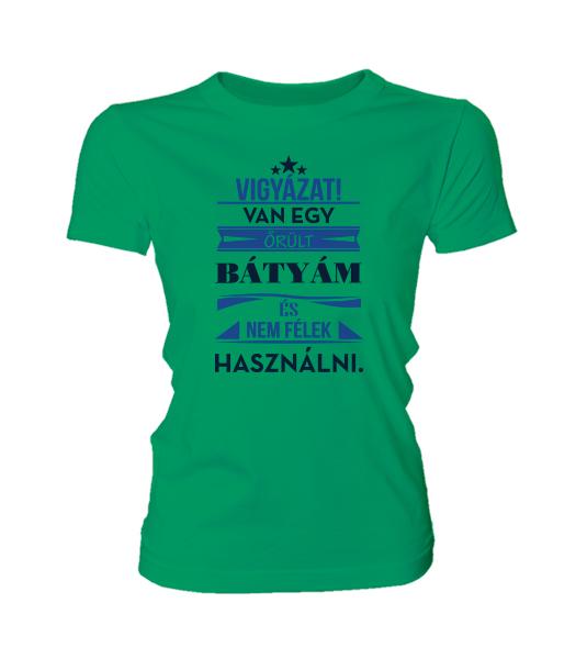 Őrült Bátyám (női póló) - Polószabó 1a23627f91