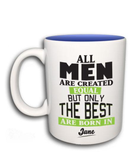 4ce1dae65b All men are created (bögre) (Bármilyen hónappal kérhető)