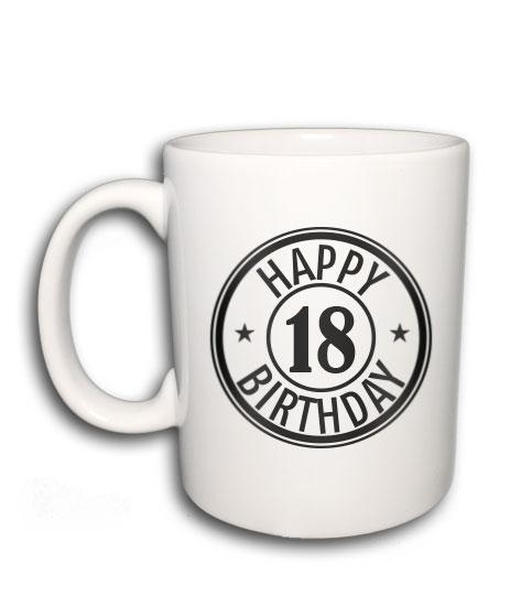 7131d807a1 Happy Birthday (bögre) (Bármilyen születési évvel kérhető)