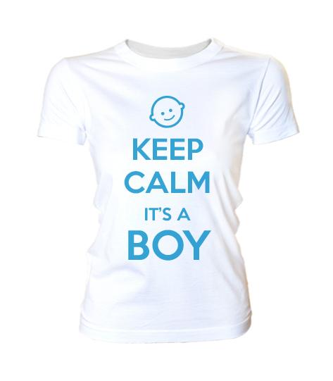 Keep calm its a Boy (női póló 0f546af8c3