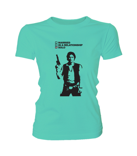 82ee42d1e6 Star Wars - Solo (Női póló) - Polószabó
